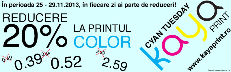 black friday, black friday print, reduceri print color, pret print color A4, print color, print color ieftin