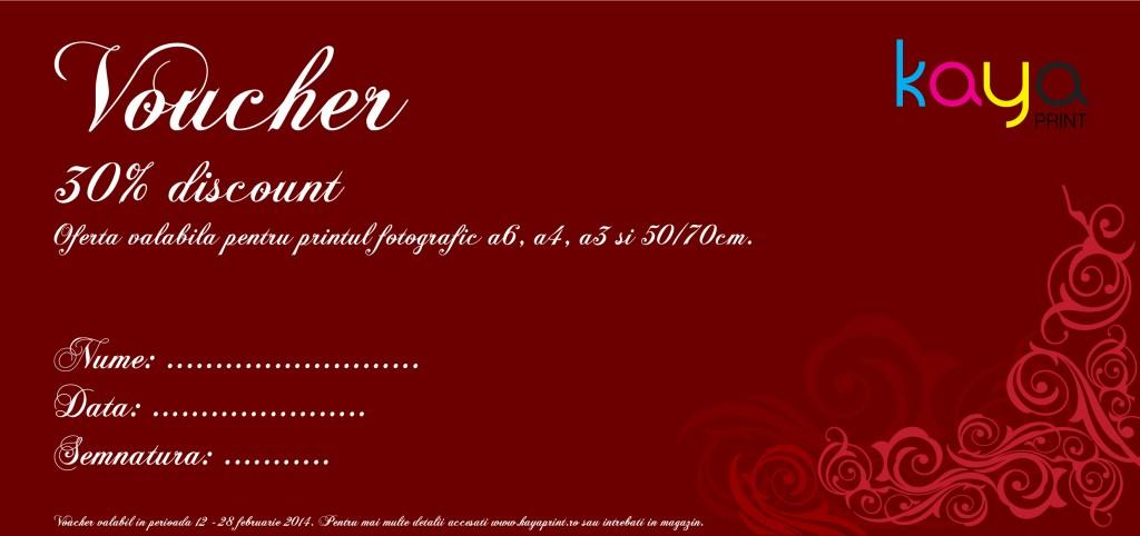 Oferta print Valentine's Day, voucher print, oferta print foto, oferta print color, voucher print color, oferta ziua indragostitilor